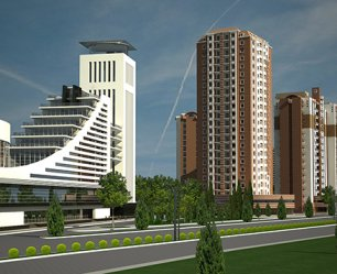 Бизнес-центр. Баку-Сумгайыт