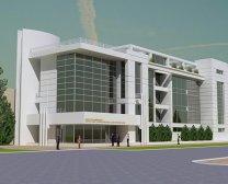 Концепция здания Главного управления по борьбе с коррупцией при Генеральной прокуратуре Азербайджана